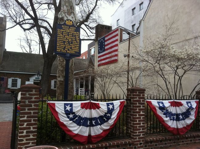Betty Ross Philadelphia, United States 2011 Architecture Bare Tree Betty Betty Ross Building Exterior Built Structure Day Flag Low Angle View No People Outdoors Patriotism Stars And Stripes Striped Symbolism Tree