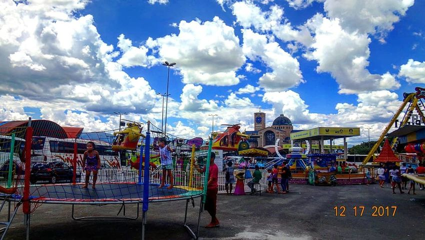 Multi Colored Cloud - Sky Amusement Park Arts Culture And Entertainment Outdoors ⛪☁📷
