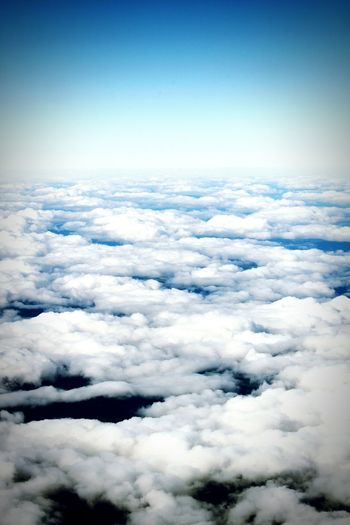 On my way to Scotland. Flying above the clouds Beauty In Nature Majestic Aerial View Cloud - Sky Sky Day The Natural World Cloudscape Cloud Blue Skyporn Skylovers