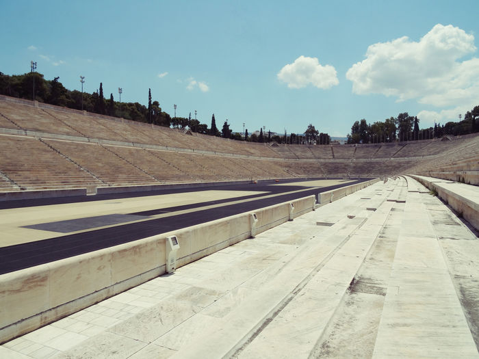Athens Day Nature No People Olympic Olympic Stadium Olympic Stadium Athens Outdoors Sky Sun The Way Forward EyeEmNewHere EyeEmNewHere The Architect - 2017 EyeEm Awards The Great Outdoors - 2017 EyeEm Awards Live For The Story