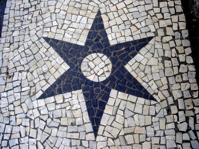 Six-pointed star No People Star Estrela