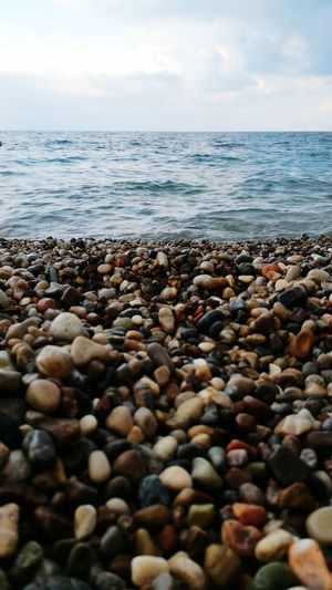 Olimpos, Kemer Sea Pebble Beach Pebble Beach Nature Outdoors No People Horizon Over Water Water Day Beauty In Nature Sky