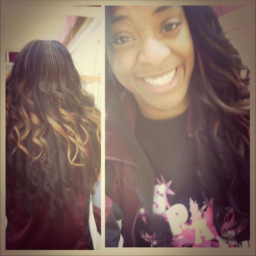 Best Friend Did My Hair♥