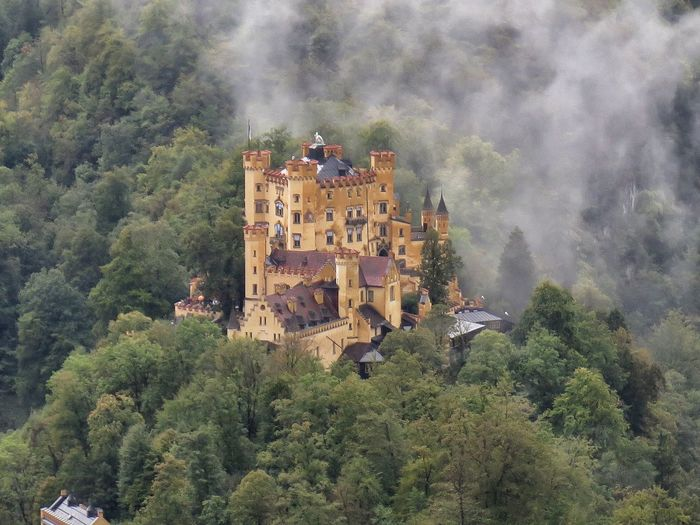 GERMANY🇩🇪DEUTSCHERLAND@ Bavaria Hohenschwangau Castle Fortress Ludwig II Palace Architecture XIX Century Bayern Germany