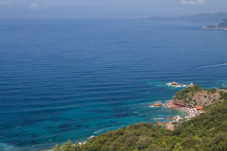 Above the sea Sea Water Scenics - Nature Sky Land Beach Blue Horizon Over Water Horizon Mountain Outdoors
