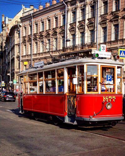 City Street Tram Summer