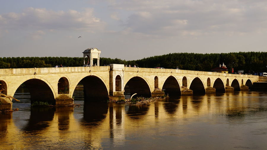Edirne City Water Tree Bridge - Man Made Structure Arch Silhouette Sky Architecture Built Structure Arch Bridge Railway Bridge Bridge Railroad Bridge River Cable-stayed Bridge Bascule Bridge Waterfront Suspension Bridge Chain Bridge Place Of Worship Foggy Cathedral Riverbank Viaduct Historic Storm Cloud Church Swan Catholicism EyeEmNewHere