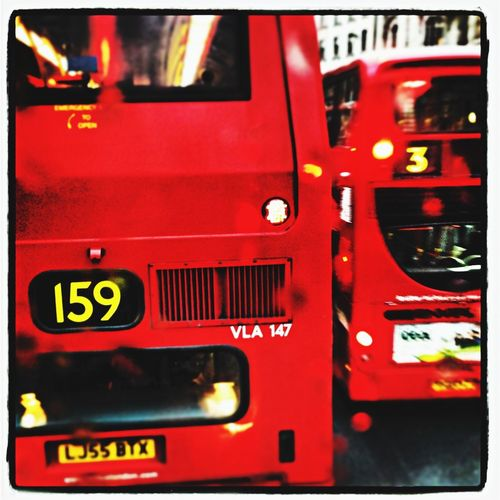 London Bus Oxford Street  City