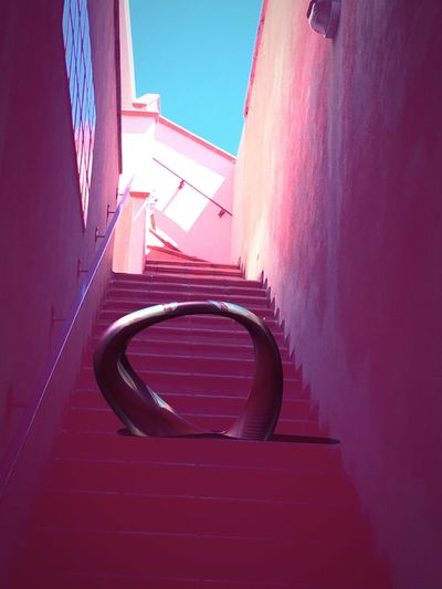 Pivotal Ideas Geometrical Patterns Object Object From Nowhere Colour Of Life Architectural Detail Stairs Lanscape Photography Street To Beach Hiden Art Street Art Framed Architecture Trapped