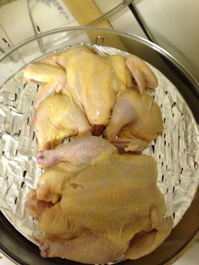 Prepped Dinner Last Night First Time Butterflying A Chicken SO PROUD OF MYSELF