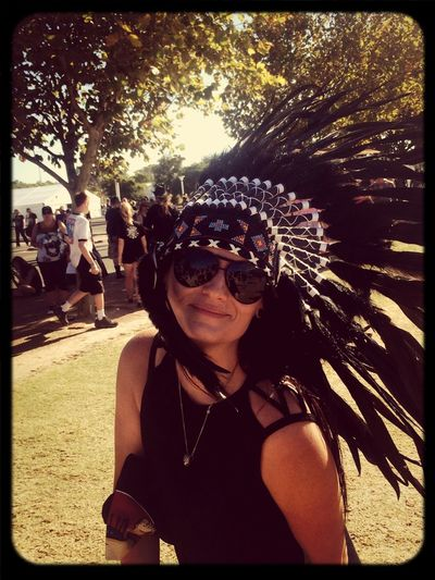 Big Day Out 2014 Indian Headress I Love Music, ♫♪