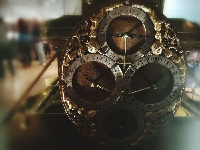 Clock Time Cogs Indoors  No People Close-up Day EyeEmNewHere