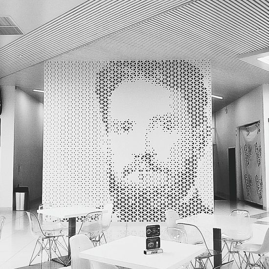 Monochrome Photography Kurchatov Cafe Architecture No People Huaweiphotography Huawei