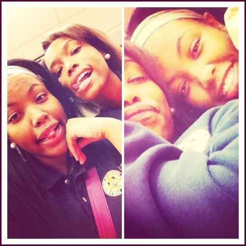 Me & My Twin . I Love This Chick