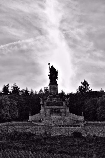 Niederwalddenkmal Germania Niedewalddenkmal Denkmahl Historical Monuments Monument