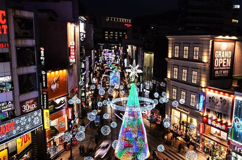 Best Christmas Lights 2015  Nampodong Busan