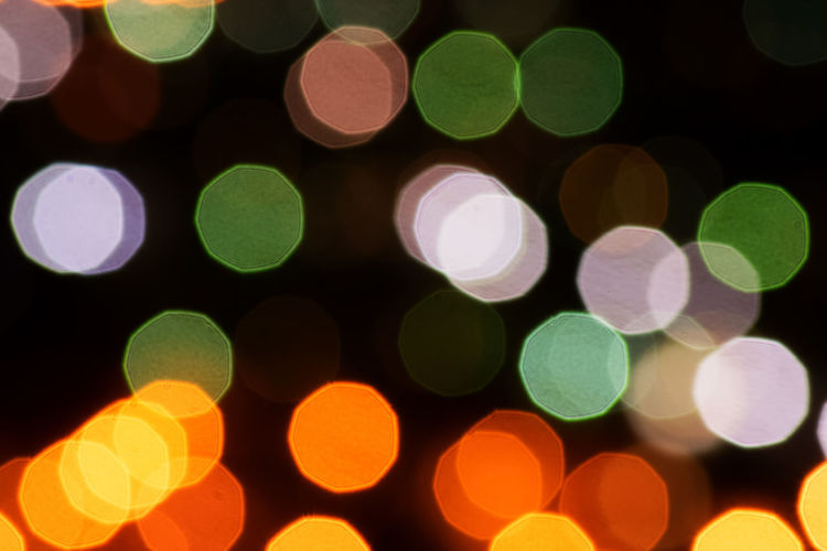 Bokeh Bokeh Lights Circle Defocused Disco Lights Group Of Objects Multi Colored Saturated Color Sky Spotted