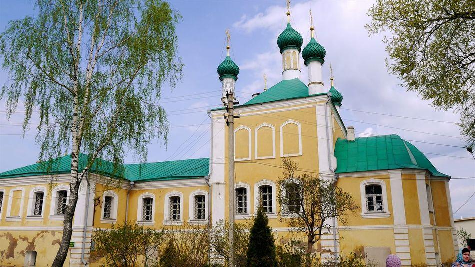 Pereslavl'-zakessky Traveling Arhitecture Historical Building Sky And Building Historical Никитинский монастырь Monastery