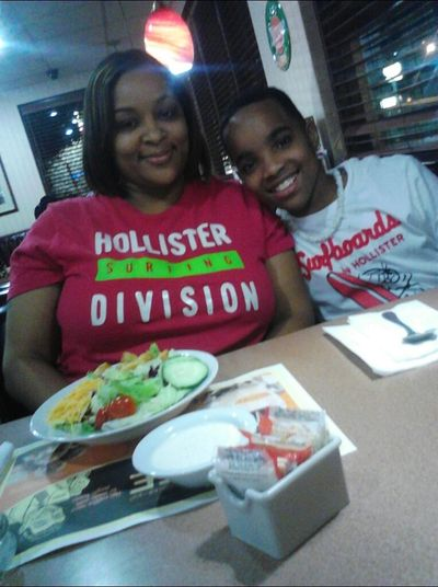 mommy & brother 