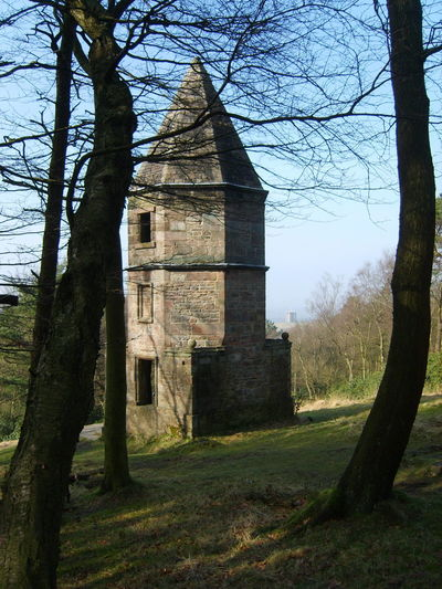 Lyme Park National Trust Outdoors 2010 Bare Tree Tree Architecture The Lantern Victorian Victorian Folly Folly