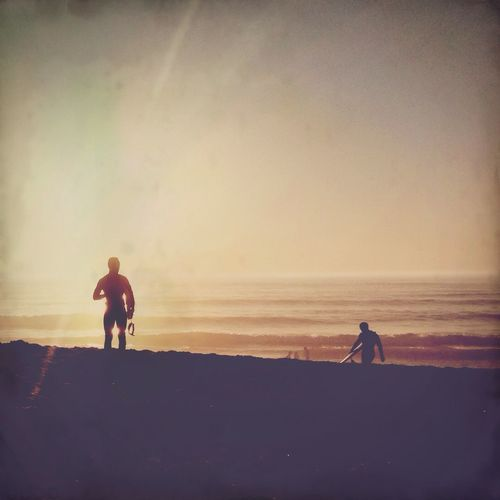 Surf Shootermag AMPt_community Surfing Sunset