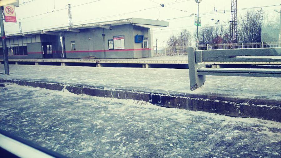 It's Cold Outside Hello World Eeyem Photography Taking Photos Trainphotography Train Station Москва Moscow русская 2016 январь привет мир Train поезда🚂 поезда окно поезда