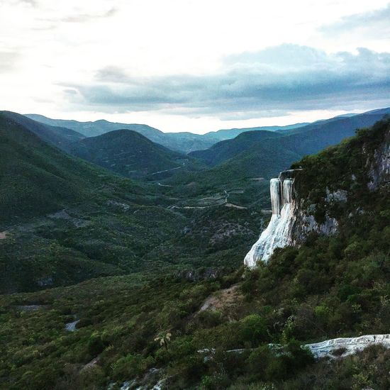 Petrified Waterfalls in Oaxaca Mexico . Traveling Travel Photography Nature EyeEm Nature Lover