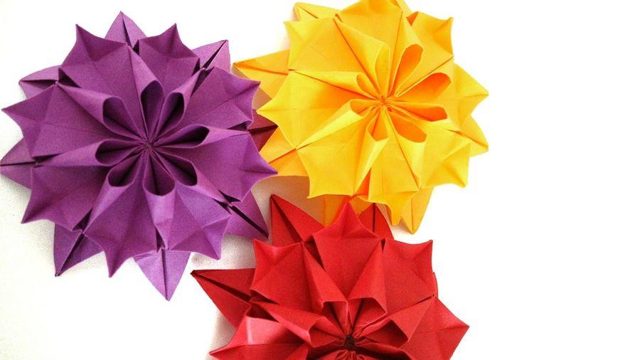 Flowers Origami