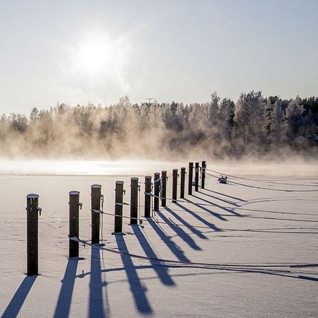 Winter day in Heinola Dslrphotography DSLR Winter Suomi Finland Frozen