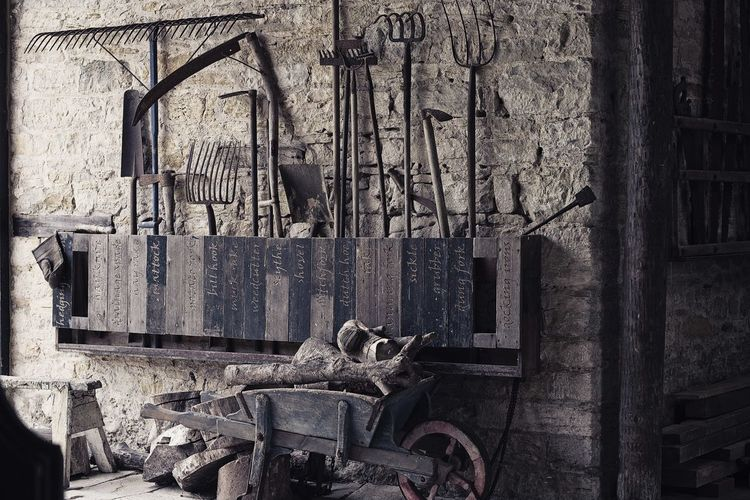 old tools Old