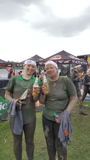Oh my goodness! We've done it 😊💪🙌🙌 Toughmudder Tough Mudder Run Mud Run Feeling Proud Exhausted