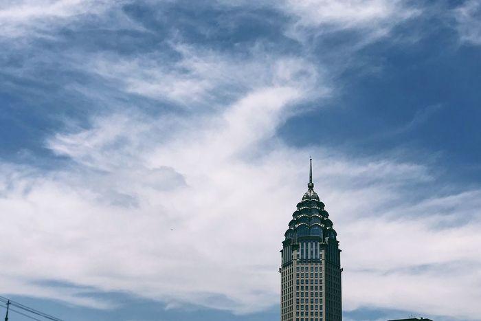 My City Building Exterior Architecture Sky Built Structure Cloud - Sky Building Tower Travel Destinations City Low Angle View Tourism Travel Outdoors Office Building Exterior
