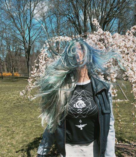Let Your Hair Down Bluehairdontcare BlueHair Long Hair