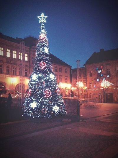 Discover Your City Night Photography Bielsko-Biała Old Town