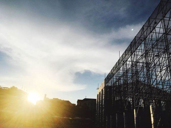 The Week On EyeEm Architecture Built Structure Building Exterior Sky Outdoors Sunlight No People Day Low Angle View Cloud - Sky City Nature Documenta 14
