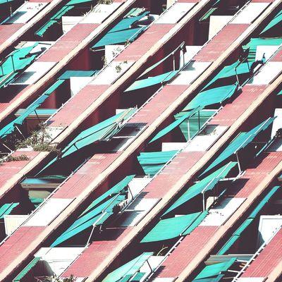 Night of the living dead | La noche de los muertos vivientes Architecture Balconies Awning Exploring