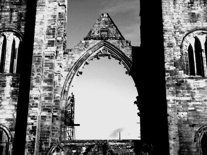 Elgin Cathedral extreme B/W edit Architecture B/w B/w Collection B/w Daily B/W Photography Building Exterior Buildings & Sky Built Structure Cathedral Church Culture Eye Em Scotland Famous Place Historic Historical History Low Angle View Old Buildings Outdoors Place Of Worship Religion Scotland Spirituality Tower Uk