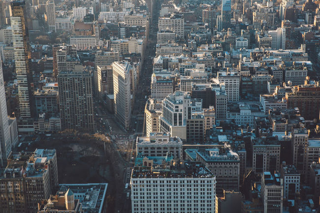 Aerial View Architecture Building Exterior City City Life Cityscape Cold Crowded Day Downtown District Empire State Building Flatiron Building High Angle View Manhattan Modern Morning New York New York City NYC Outdoors Skyscraper Sunrise Travel Destinations Urban Skyline Winter Neighborhood Map The Architect - 2017 EyeEm Awards