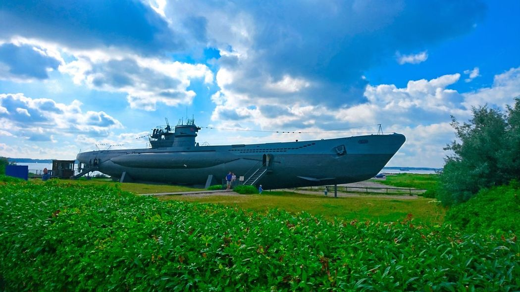Submarine Uboot Ubootehrenmal Ubootmuseum Landscape GERMANY🇩🇪DEUTSCHERLAND@ Ostsee