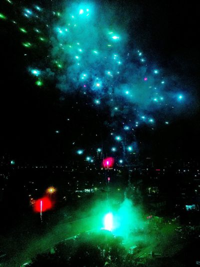 Night Sky Outdoors Lights And Shadows Dark Black Background Beauty Light Night Photography Fireworks In The Sky