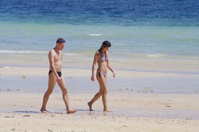 普吉岛上的情侣 旅游 海滩 First Eyeem Photo 情侣