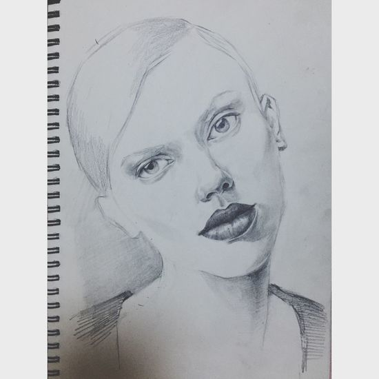 Painting Drawing ArtWork Art, Drawing, Creativity Check This Out My Drawing Art Scarlett Johansson