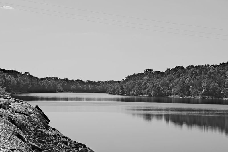 Alabama Alabama Outdoors Beauty In Nature Black And White Blackandwhite Landscape Monochrome Outdoors Reflection River Scenics