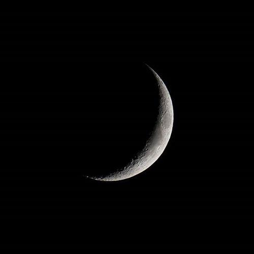 오늘자 손톱달 대포들고 창가에서 낑낑 손톱달 달 대포 새벽에별찍을수있을듯 밤하늘이정말끝내주는요즘 집에서자야지 Cresent Moon