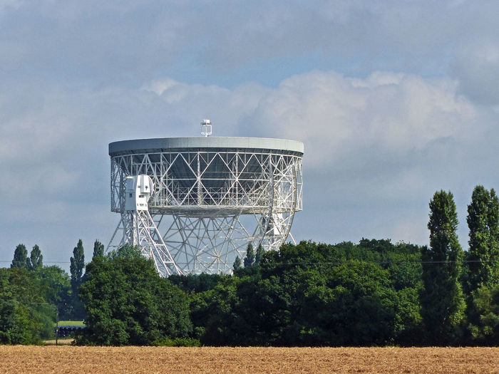 The calm before the Bluedot Festival Architecture Built Structure Cloud - Sky Cloudy Green Color Growth Jodrell Bank Landscape Lovell Telescope Otherworld Otherworldly Outdoors Overcast Sky Tranquility