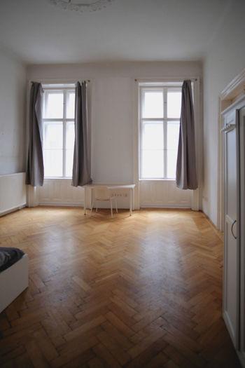 Empty corridor of house