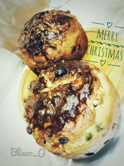 Merry Christmas... Blisco_O BliscoO Art 2017 MerryChristmas Pandulce Repostería Food Happy Smile Costumbres Food Close-up Indoors  Sweet Food Day