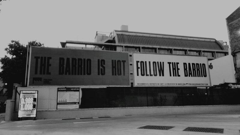 Poblenou Streetphotography Blavk And White Barcelona Streets