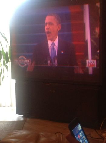 My View , Earlier(: #PresidentObama