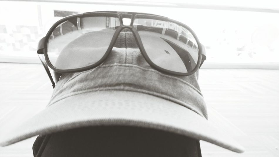 Spectacles on hat Relaxing Moments Specticals Hat Relaxing Time